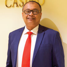 Clifford T. Casinader,Chief Executive Officer