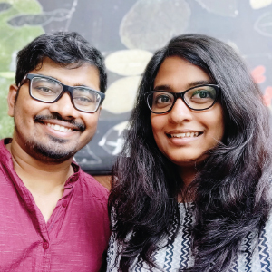 Subhadeep Mondal, Co-Founder & CEO,Sivareena Sarika, Co-Founder & COO