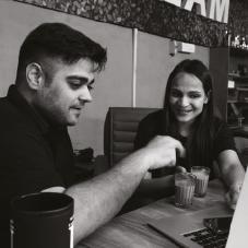 Akshay Dua, Founder & CEO, Tanisha Pant, Co-Founder & CXO