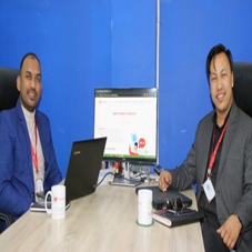Bishnu Maharjan, Founder & CEO, Sanjay Mahaseth, Founder & CBO