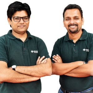 Siddharth Gadia & Girish Agarwal ,Co-Founders