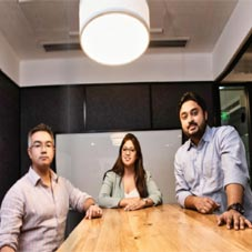Ashtaka Sharma, Tanu Kamra, Souman Mukherjee,Co-Founders