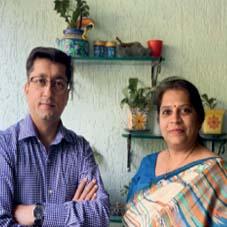 Praful Gajare & Gowri Yogananda,  Founders & Managing Partners
