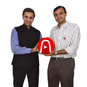 Rajiv K.Rajendra, Author&Founder-CEO,Ajay S.Ramachandran, Head of Technology
