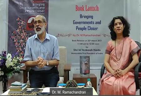 Hon'ble VP of India Sri.M.Venkaiah Naidu launches book