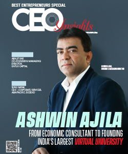 Ashwin Ajila: From Economic Consultant to Founding India's Largest Virtual University