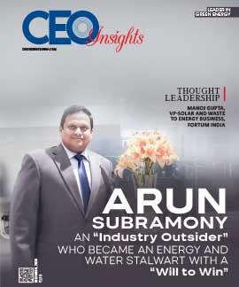 Arun Subramony: An