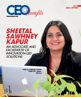 Sheetal Sawhney Kapur: An Advocate And Facilitator Of Innovation-Led Solutions