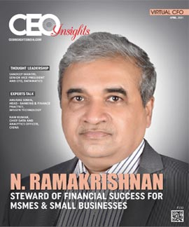 N. Ramakrishnan: Steward Of Financial Success For MSMEs & Small Businesses