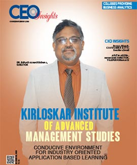 Kirloskar Institute Of Advanced Management Studies: Conducive Environment For Industry Oriented Application Based Learning