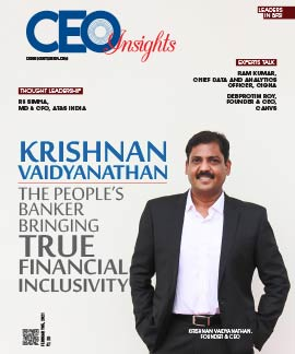 Krishnan Vaidyanathan: The People's Banker Bringing True Financial Inclusivity