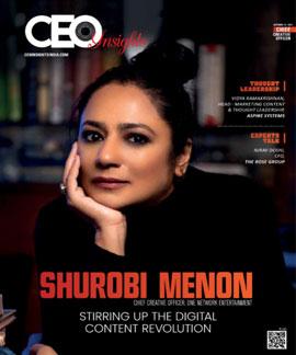 Shurobi Menon: Stirring Up The Digital Content Revolution