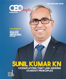 Sunil Kumar KN: Exemplifying That Law Abiding Is About Principles