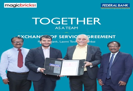 Federal Bank Partners with Magicbricks for Quick Disposal of Immovable Properties