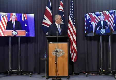 US, UK, Australia Declares New Security Partnership