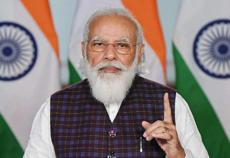 PM Modi Appeals Youth to Work for 'New India' through 'Atmanirbhar Bharat'