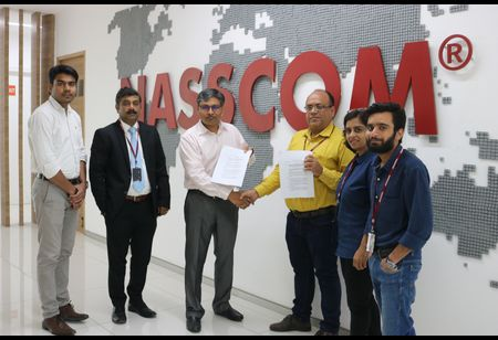 MoU is Signed between NASSCOM Community and Bloggers Alliance