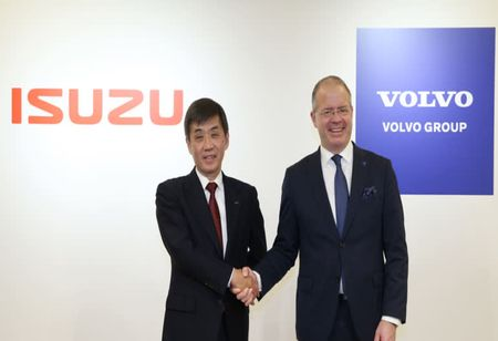 Volvo Group Announces Strategic Alliance with Isuzu Motors