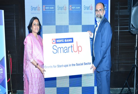 HDFC Bank Provides SmartUp Grants to Social Sector Start-Ups