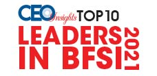 Top 10 Leaders in BFSI - 2021
