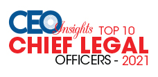 Top 10 Chief Legal Officers - 2021