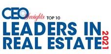 Top 10 Leaders in Real Estate - 2021