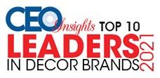 Top 10 Leaders in Decor Brands - 2021