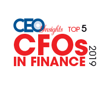 Top 5 CFOs in Finance - 2019